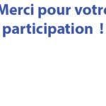Participez : le sondage est clos !